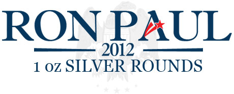 Ron Paul Copper Silver Rounds